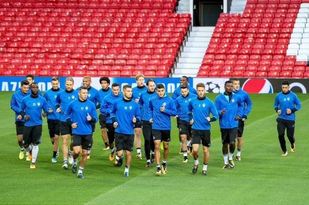 Le dernier entraînement du FC Bâle avant la rencontre face à Manchester United mardi soir. © Oreste Di Cristino / leMultimedia.info