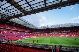 Old Trafford, 24 heures avant Manchester United v FC Bâle. © Oreste Di Cristino / leMultimedia.info