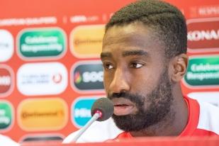 « Je fais mon job comme à chaque match », prévient Johan Djourou. © Oreste Di Cristino / leMultimedia.info