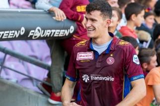 Nathan a inscrit le but du 3-1 à la 61e minute face au FC Schaffhouse. © Oreste Di Cristino / leMultimedia.info
