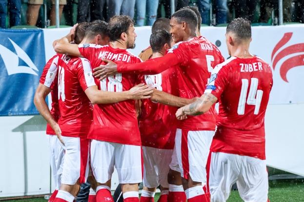 L'Équipe de Suisse peut savourer une septième victoire de rang à Saint-Gall (21 points). © Oreste Di Cristino / leMultimedia.info