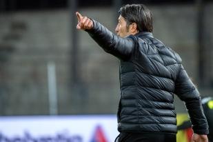 Murat Yakin, entraîneur de Grasshopper, mène le club zürichois dans le droit chemin depuis son arrivée vers la fin du mois d'août dernier. © leMultimedia.info / Oreste Di Cristino