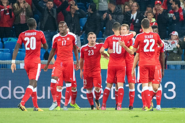 La Suisse part avec le plein de confiance à Lisbonne après cette nette victoire 5-2 sur les Magyars. © leMultimedia.info / Oreste Di Cristino