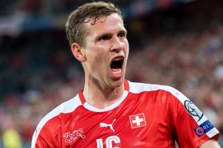 Fabian Frei a marqué pour son retour en équipe de Suisse (20e). © leMultimedia.info / Oreste Di Cristino