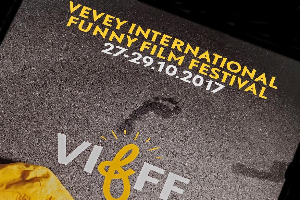 L'affiche du VIFFF. Photo: leMultimedia.info / Oreste Di Cristino