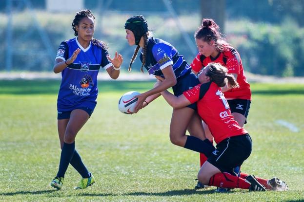 Match entre les Alba Ladies et les Switzers. © leMultimedia.info / Oreste Di Cristino