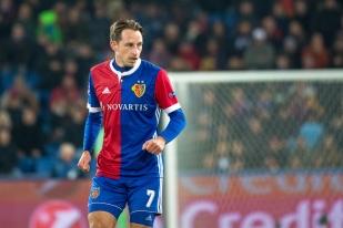 Luca Zuffi s'est fait l'auteur du premier but à la demi-heure de jeu (32e). © leMultimedia.info / Oreste Di Cristino