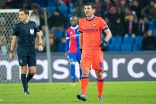 Alan Dzagoev a réveillé son équipe au tournant de la 45e minute de jeu à Bâle. © leMultimedia.info / Oreste Di Cristino
