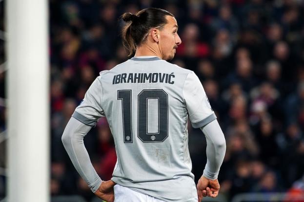 Zlatan Ibrahimovic a fait son retour en compétition européenne après sa blessure contractée la saison passée en Europa League. © leMultimedia.info / Oreste Di Cristino