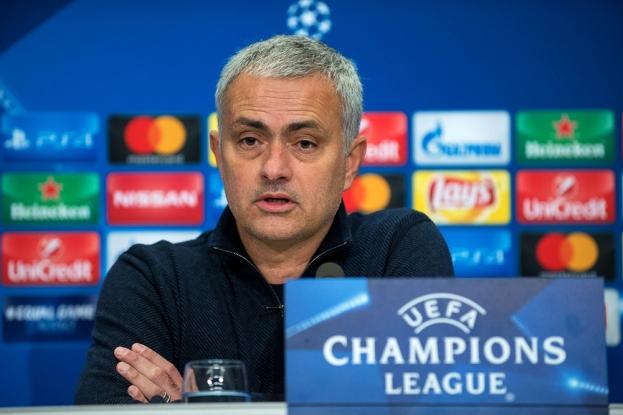José Mourinho s'est défendu d'une prestation décevante en conférence de presse. © leMultimedia.info / Oreste Di Cristino