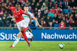 Denis Zakaria a une nouvelle fois été titularisé avec l'Équipe de Suisse. Sa deuxième titlarisation de suite après Belfast. © leMultimedia.info / Oreste Di Cristino