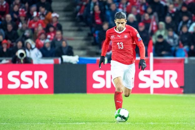 Ricardo Rodriguez a littéralement sauvé la Suisse face à l'Irlande du Nord. © leMultimedia.info / Oreste Di Cristino