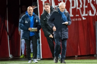 Michel Decastel a de nombreuses opportunités offensives. Un luxe pour un club rêvant de Super League. © leMultimedia.info / Oreste Di Cristino