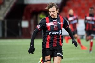 Geoffrey Tréand a aussi marqué de son but le match des extrêmes face au FC Wil. © leMultimedia.info / Oreste Di Cristino