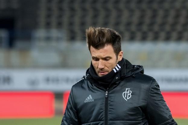 Raphaël Wicky a exprimé son ressenti sur l'état de la pelouse avant et après le match. © leMultimedia.info / Oreste Di Cristino