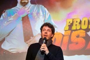 Flavio Sala joue le rôle du frontalier Roberto Bussenghi. © leMultimedia.info / Oreste Di Cristino