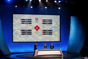 Le panorama de la League A avec quatre groupes de trois équipes. La première division est la plus relevée de la compétition. © leMultimedia.info / Oreste Di Cristino
