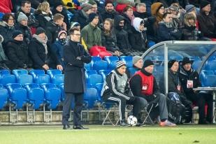 Raphaël Wicky a reconnu l'écart stratosphérique séparant son FC Bâle à Manchester City. © leMultimedia.info / Oreste Di Cristino