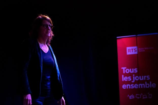 Ursula Meier, cinéaste. © leMultimedia.info / Yves Di Cristino