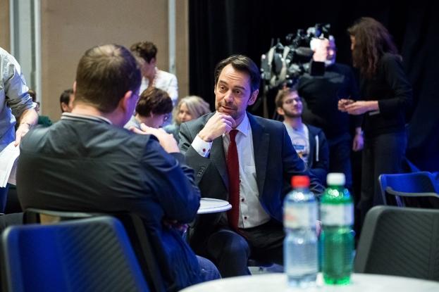 Le directeur de la RTS, Pascal Crittin voit l'étendue de la culture sur les chaines du service public d'un très bon œil. © leMultimedia.info / Yves Di Cristino