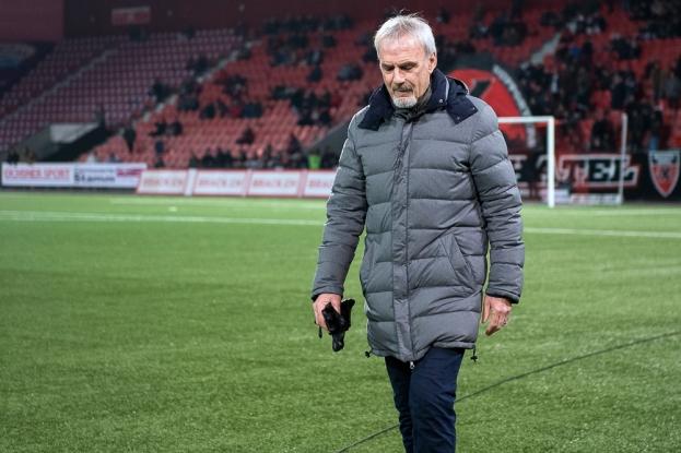 Michel Decastel connaît les mérites de son équipe. © leMultimedia.info / Oreste Di Cristino
