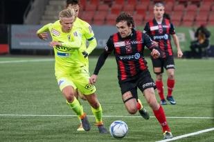 Geoffrey Tréand a été deux fois passeur décisif sur corner ce vendredi soir face au FC Aarau (31e et 72e). Ce sont ses 5e et 6e assists de la saison. © leMultimedia.info / Oreste Di Cristino