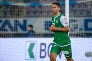 Nassim Ben Khalifa, qui a quitté le LS pour Saint-Gall en juin dernier, a inscrit le but du 2-0 à la 33e minute. © leMultimedia.info / Oreste Di Cristino