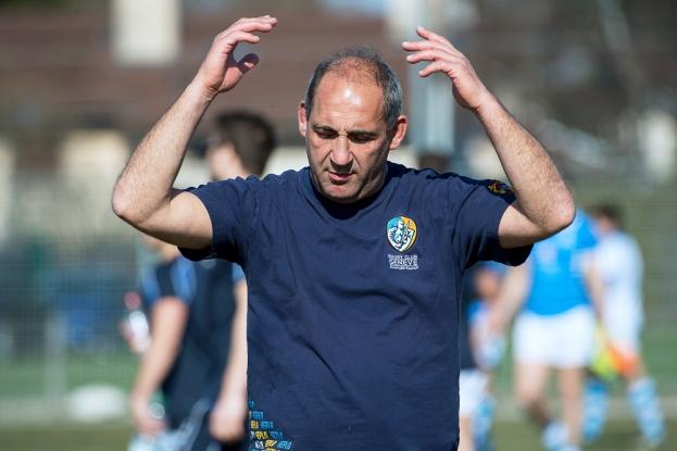 Éric Andreu, entraîneur de Genève Plan-les-Ouates, sait le chemin parcouru depuis le début de la saison. © leMultimedia.info / Oreste Di Cristino