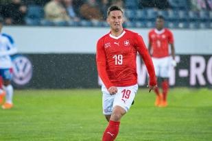 Mario Gavranovic a fait son retour avec l'Équipe de Suisse depuis... 2014 et une blessure lors de la Coupe du Monde au Brésil. © leMultimedia.info / Oreste Di Cristino