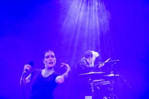 Flèche Love sera présente au Montreux Jazz Lab le 13 juillet 2018 avec Lomepal. © leMultimedia.info / Oreste Di Cristino