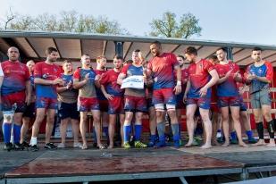 Les Gessiens ont toutefois honoré leur place de finaliste. L'USPG évoluera encore en Promotion Honneur la saison prochaine. © leMultimedia.info / Oreste Di Cristino