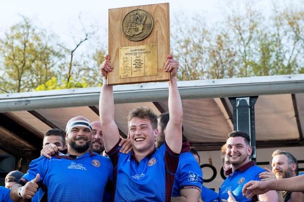 Le Servette Rugby Club est champion du Lyonnais pour la quatrième année consécutive. © leMultimedia.info / Oreste Di Cristino