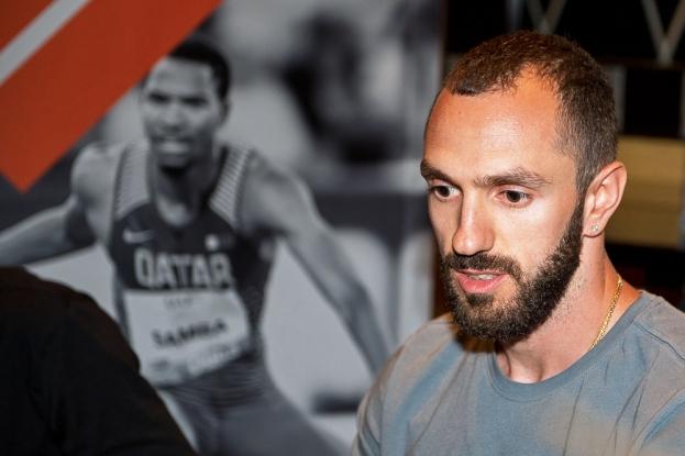 Le champion du monde surprise du 200 mètres à Londres, le Turc Ramil Gulieyev repart pour une nouvelle saison à Doha, cette fois sous les projecteurs des médias du monde entier. © leMultimedia.info / Oreste Di Cristino