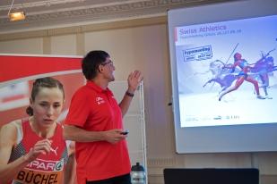 Peter Haas espère une saison autant aboutie que la précédente, lors de l'exercice 2017. « L'athlétisme suisse doit grandir et regarder toujours vers l'avant. » © leMultimedia.info / Oreste Di Cristino