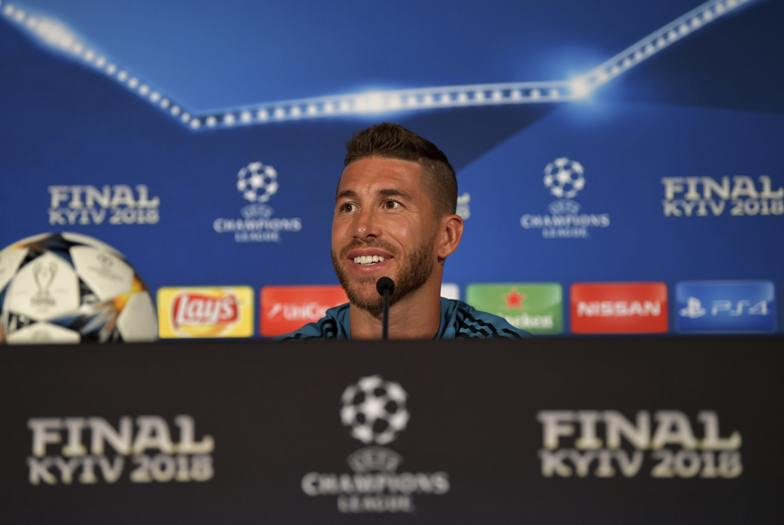 Real Madrid Press Conference- UEFA Champions League Final Previews