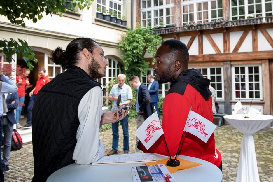 Alex Wilson, posé, sait que sa saison sera déterminante, tant en Suisse qu'à l'international. © leMultimedia.info / Oreste Di Cristino [Zofingen]