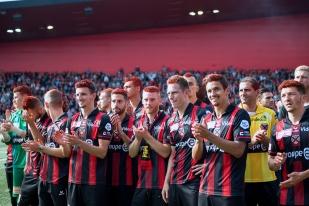 Les Rouges et Noirs unis dans la fête et le succès. © leMultimedia.info / Oreste Di Cristino