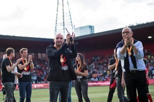 """La famille Binggeli est parvenue à promouvoir Neuchâtel Xamax en Super League à nouveau. Un exploit pour ce """"petit"""" mais très talentueux club familial. © leMultimedia.info / Oreste Di Cristino"""