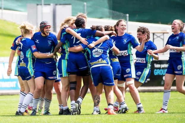 Les filles des Cern Wildcats ont remporté le titre national, 12 ans après leur dernière victoire en LNA. Un résultat historique pour le club. © leMultimedia.info / Oreste Di Cristino