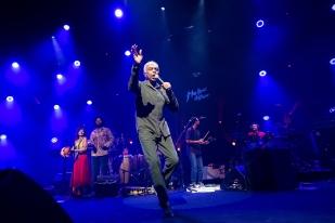 En 2016, Gilberto Gil était bien venu à Montreux avec son ami Caetano Veloso, avec lequel il n'avait pas manqué par le passé de justifier sa musique dans une veine nettement plus engagée. © leMultimedia.info / Oreste Di Cristino