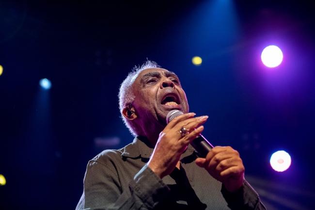 Gilberto Gil en est à sa 18e participation au Montreux Jazz Festival. Un habitué des belles soirées brésiliennes à Montreux. © leMultimedia.info / Oreste Di Cristino