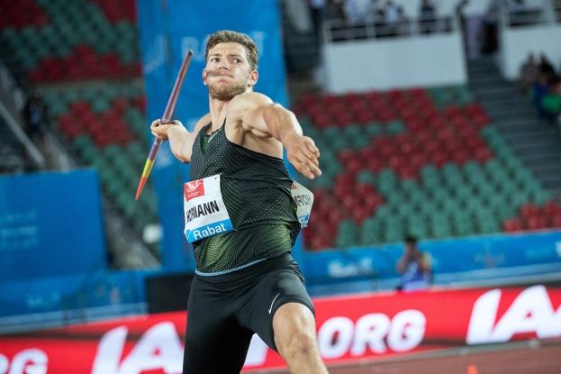 Andreas Hofmann est le deuxième meilleur performeur mondial cette saison, après son lancer à 92,06 mètres à Offenburg le 2 juin dernier. © leMultimedia.info / Oreste Di Cristino