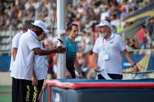 Le perchiste, champion du monde indoor, a vécu un meeting en demi-teinte à Paris. Il s'est rattrapé à Lausanne en sautant seul les 5,91 mètres. © leMultimedia.info / Oreste Di Cristino