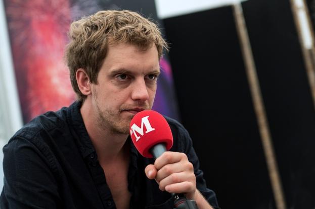 Maarten Devoldere s'est confié à leMultimedia.info quelques heures avant son concert sur le site de L'Asse. © leMultimedia.info / Oreste Di Cristino [Nyon]