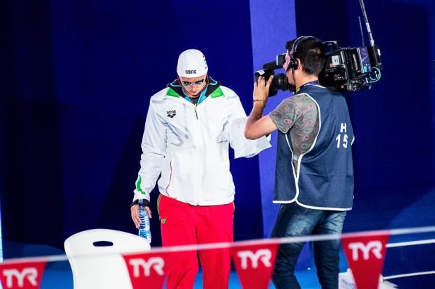 Katinka Hosszú semblait être éprouvée d'une saison difficile sur le plan personnel. Pourtant la Hongroise a remporté l'or sur la distance des 200 mètres quatre nages. © leMultimedia.info / Oreste Di Cristino [Glasgow]