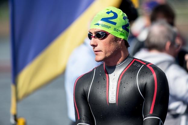Adrien Briffod a terminé à la 26e position du triathlon à Strathclyde. © leMultimedia.info / Oreste Di Cristino [Strathclyde]