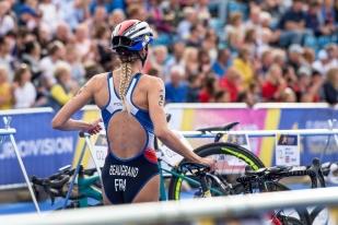 Cassandre Beaugrand avait déjà remporté la médaille de bronze jeudi après-midi en individuelle. © leMultimedia.info / Oreste Di Cristino [Strathclyde]