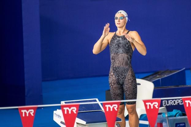 Maria Ugolkova est prête pour sa finale du 200 mètres quatre nages ce mercredi soir. Elle y affrontera notamment l'Iron Lady hongroise Katinka Hosszú. © leMultimedia.info / Oreste Di Cristino [Glasgow]