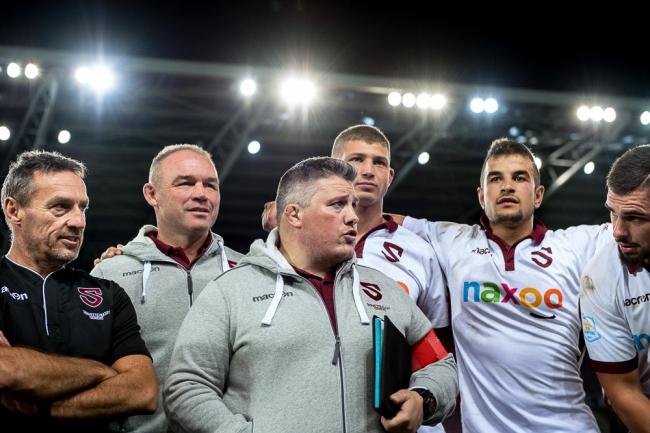 Gabriel Lignières entame sa deuxième année à la tête des équipes première et espoirs du Servette Rugby Club. En tant que manager sportif du club, il s'est montré heureux du travail accompli ces dernières semaines. © leMultimedia.info / Oreste Di Cristino [Genève]