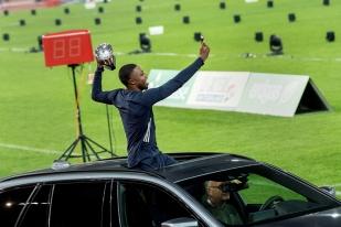 Vainqueur de sa deuxième Diamond League en deux ans, Noah Lyles a affiché un large sourire contagieux au terme de la soirée au Letzigrund. Cap désormais vers Doha en 2019 et surtout Tokyo en 2020. © leMultimedia.info / Oreste Di Cristino [Zürich]